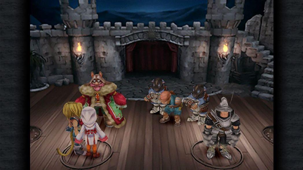 一個盜賊愛上公主,劇情看來土套,但實情是吸引,特別是黑魔道士Vivi的表現更討人...