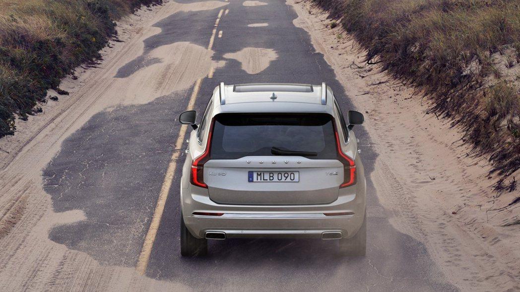 全新Volvo XC100將與XC90共用底盤與零組件。 摘自Volvo
