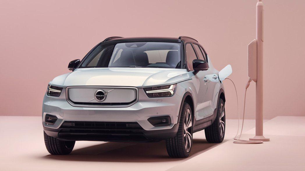 除了XC100,Volvo還會推出XC40 Coupe-SUV版本的全新C40小...