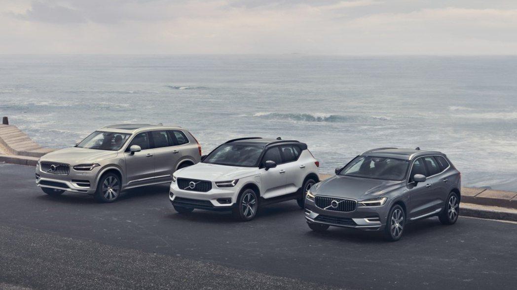 Volvo休旅三兄弟在2019年銷量佔了總品牌的60%以上。 摘自Volvo