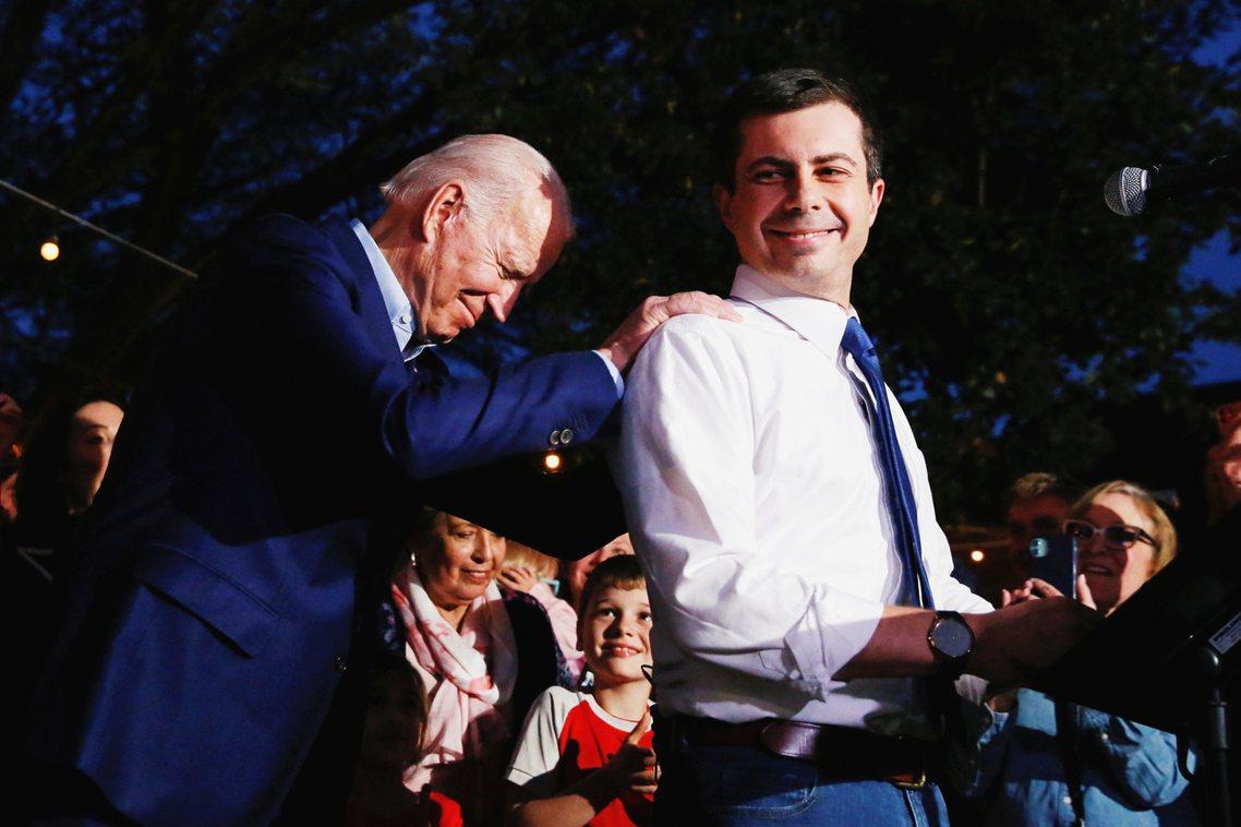 「我期待的是一名真正的領袖!一名真正的總統!他將是我們之中最好、最傑出的一位——...