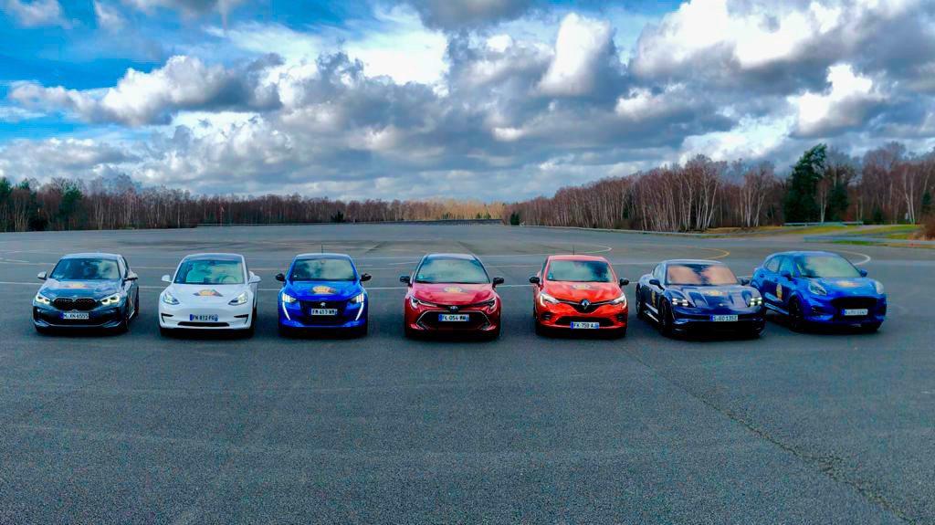 入選2020歐洲年度風雲車的七款車分別為BMW 1 Series、Ford Pu...