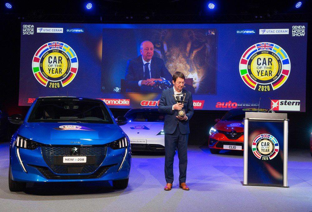 第二代Peugeot 208榮獲2020歐洲年度風雲車大獎! 摘自Car of ...