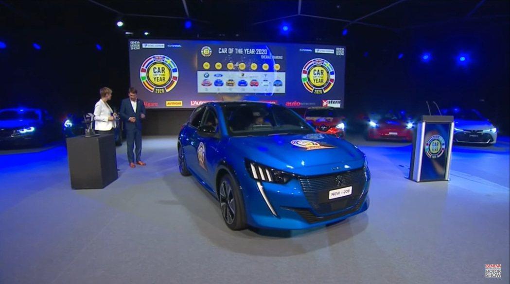 第二代Peugeot 208擊敗強敵Model 3及Taycan,榮獲2020歐...
