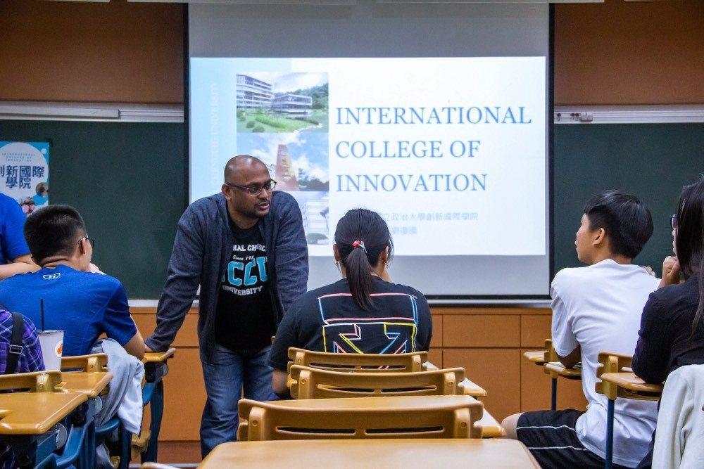 臺灣第一間國際學院「創新國際學院」將正式招生,並釋出20個獎學金予國際學生。 政...