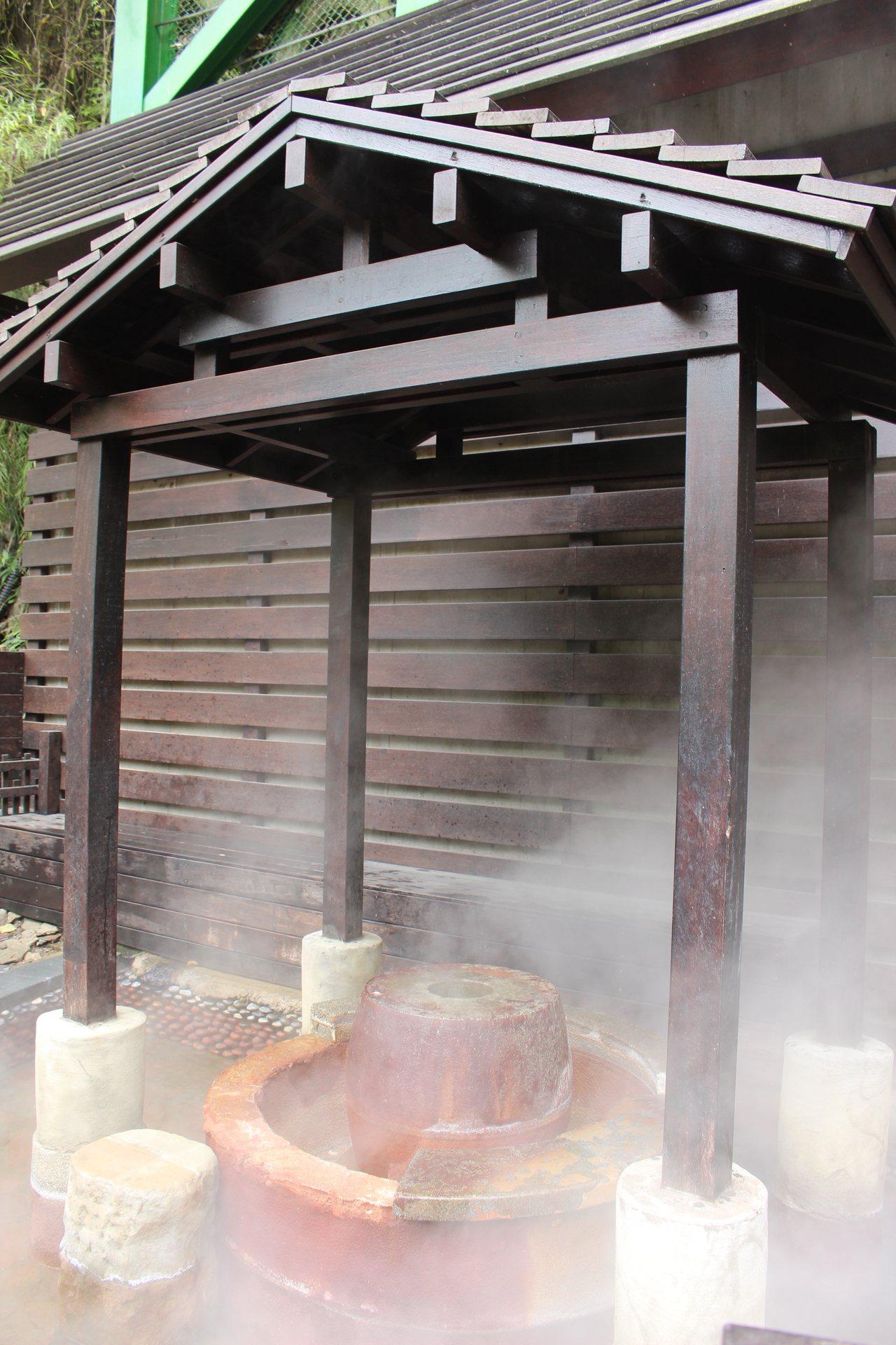 新竹縣五峰鄉的清泉部落將軍湯溫泉,是日據時代以來珍貴的溫泉資產,周一公休。 圖/...