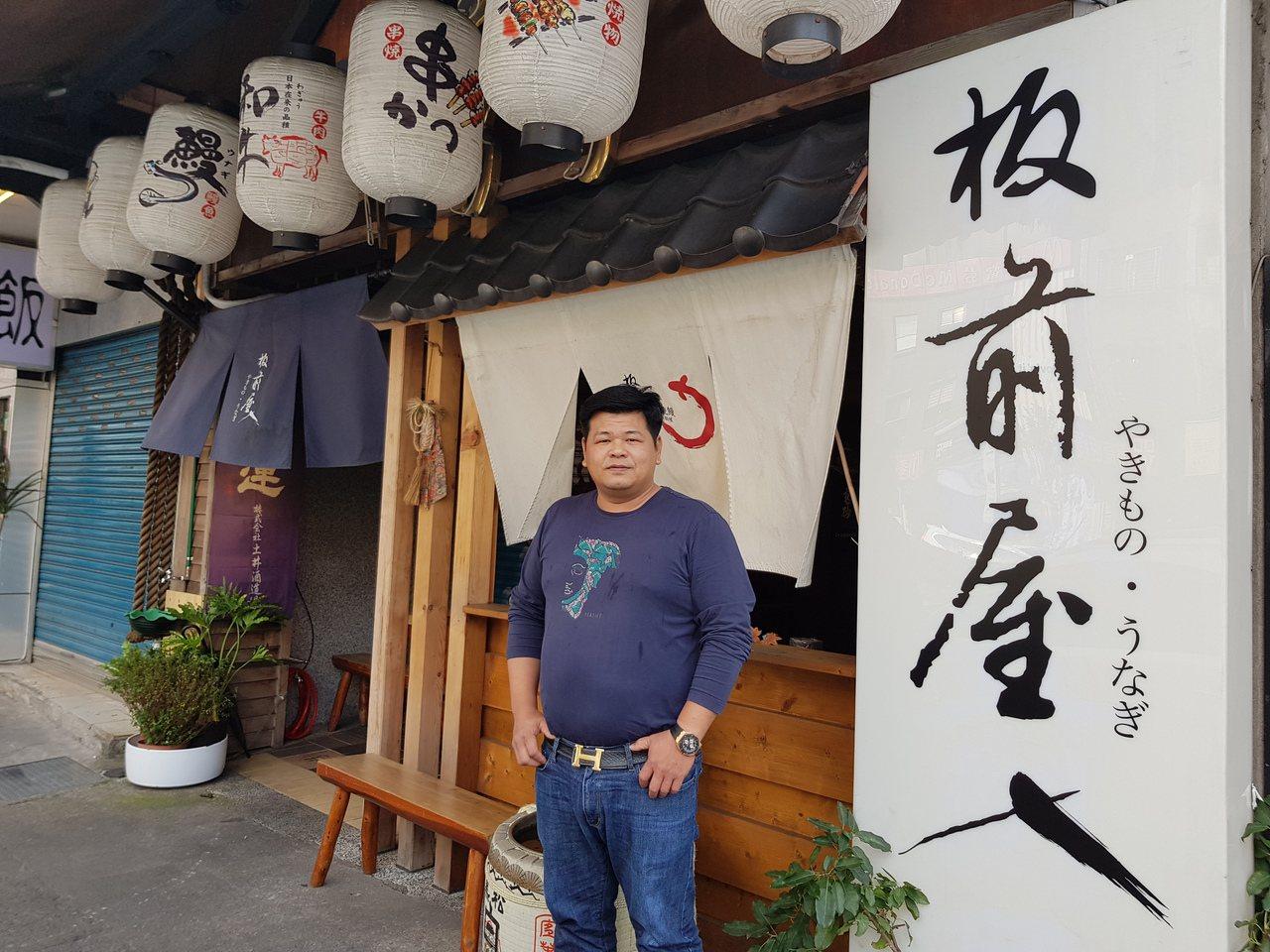 43歲楊承樺是雲林北港人,12歲獨自北漂學做鐵工、求學,退伍後轉戰餐飲,擺路邊攤...