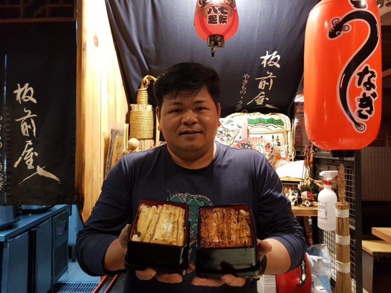 43歲楊承樺從擺路邊攤擺到開店,主打完全無刺的鰻魚飯,背後是他存好心做好事的初衷...