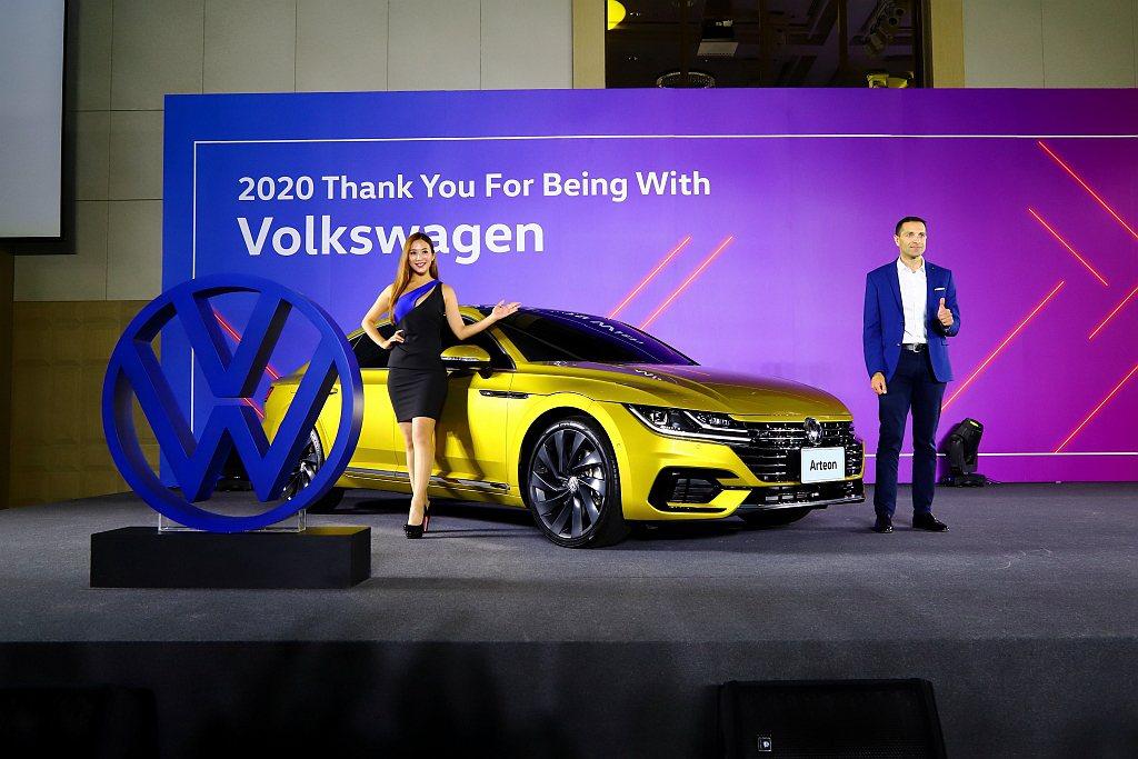 台灣福斯汽車今天公布2020產品計畫。 記者張振群/攝影