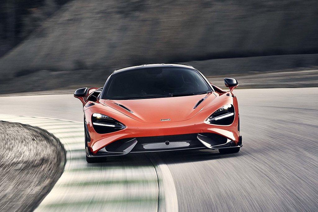 McLaren 765LT增加Nardo Orange與Smoked White...