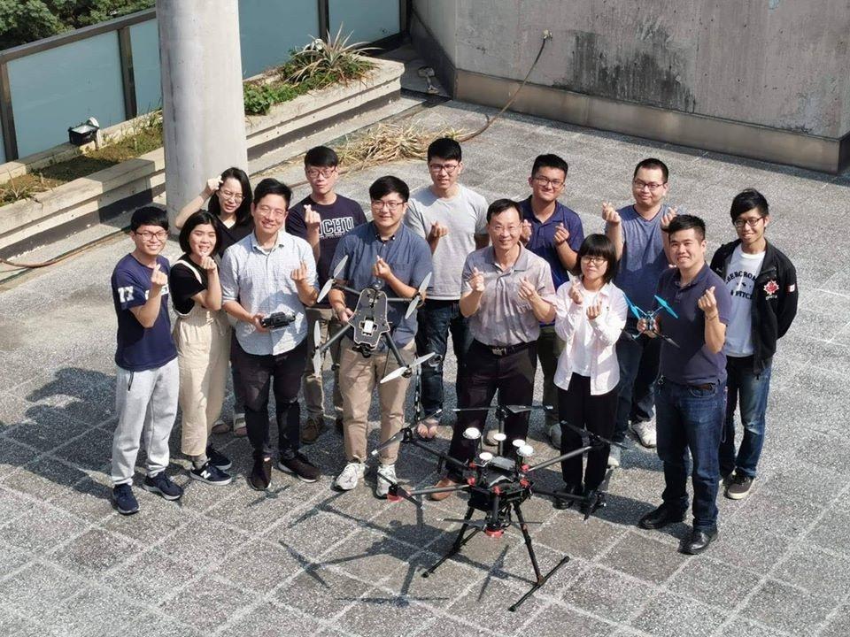 中興大學教授楊明德領軍的團隊,深耕無人機運動有十年。 許鈺群提供