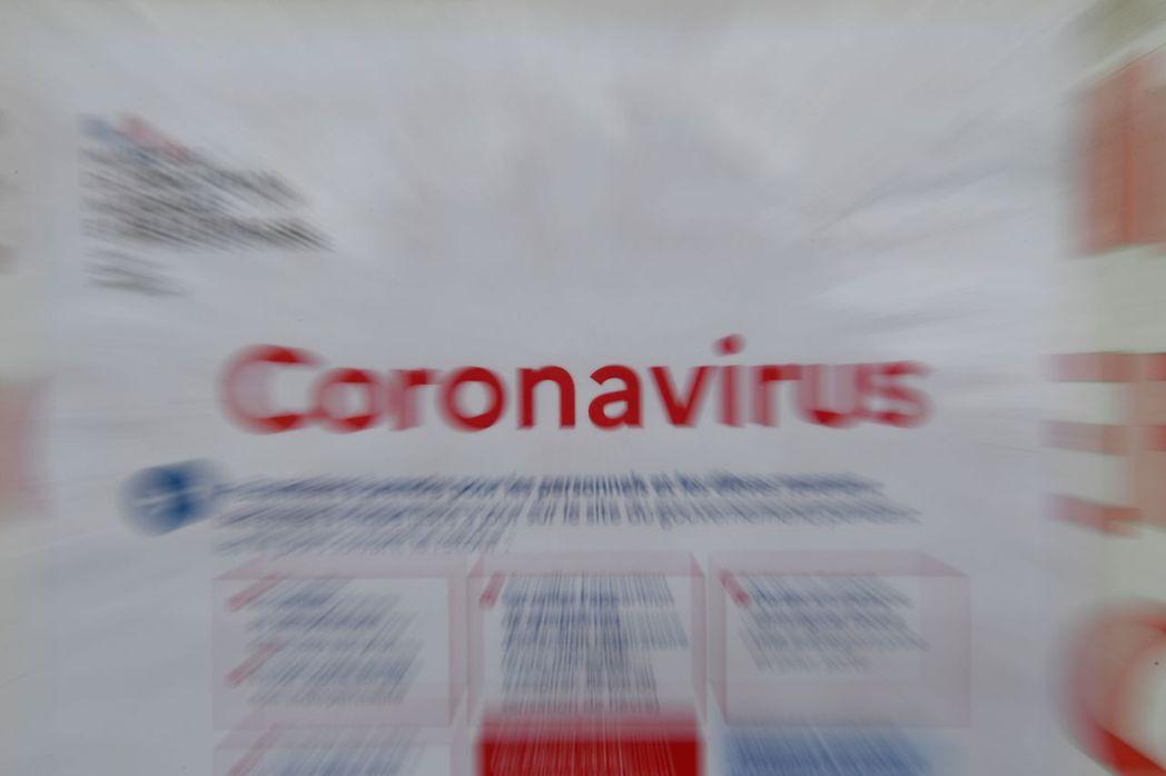 全球對於新冠病毒疫情的關注度高於流感。 (法新社)