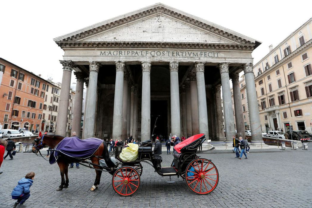 新冠肺炎疫情蔓延,重創義大利觀光旅遊業。路透