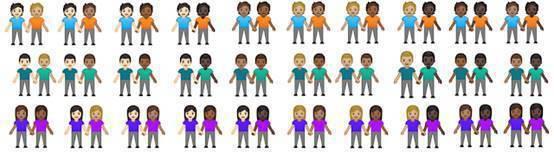 表情符號12.1更新後,新增了169種表情符號與組合,貼心滿足現代社會需求。圖/...
