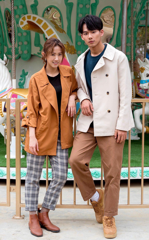 方志友(左)笑稱吳念軒是「助理小吳」。圖/TVBS提供