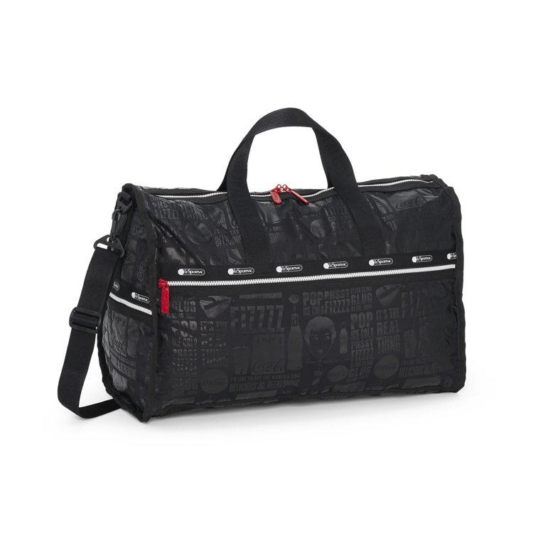 印刷夏日大型假期旅行袋,7,200元。圖/LeSportsac提供