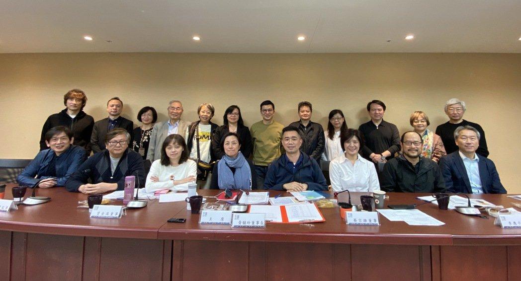 行政法人台北流行音樂中心今天召開第一屆第一次董監事聯席會。圖/文化局提供