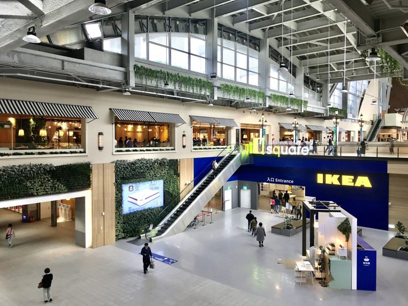 京站小碧潭店試營運,3月6日正式開幕。記者江佩君/攝影