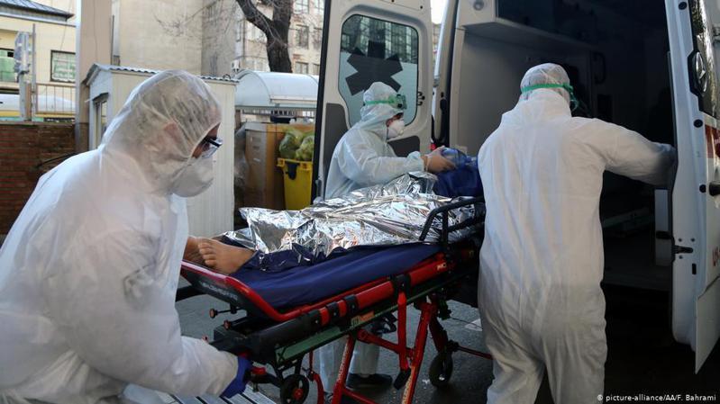 伊朗從2月25日以來不斷爆出高官確診感染新冠肺炎的消息。圖/德國之聲中文網