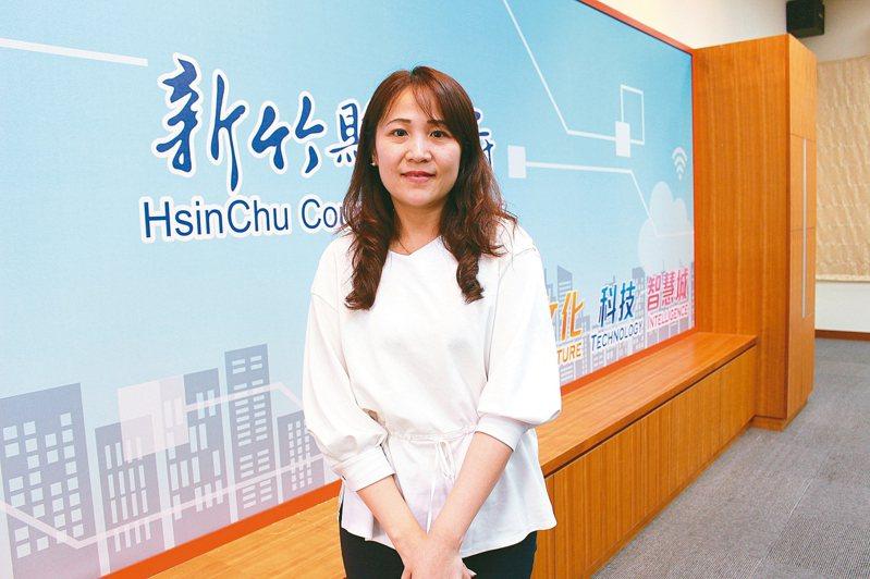新竹縣政府昨公布新任教育處長由楊郡慈擔任。 記者張雅婷/攝影
