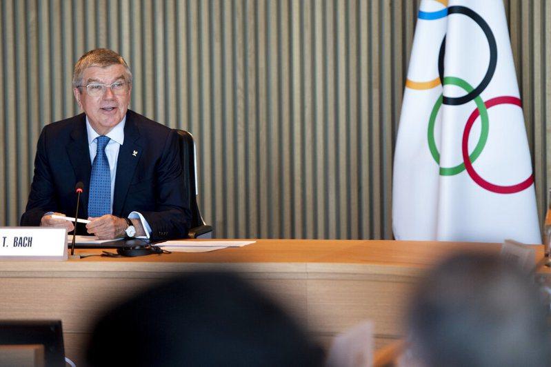 國際奧會主席巴哈(Thomas Bach)。 圖/美聯社