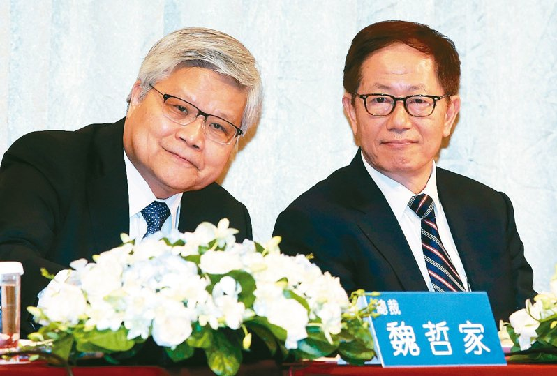 台積電總裁魏哲家(左)與董事長劉德音 (本報系資料庫)