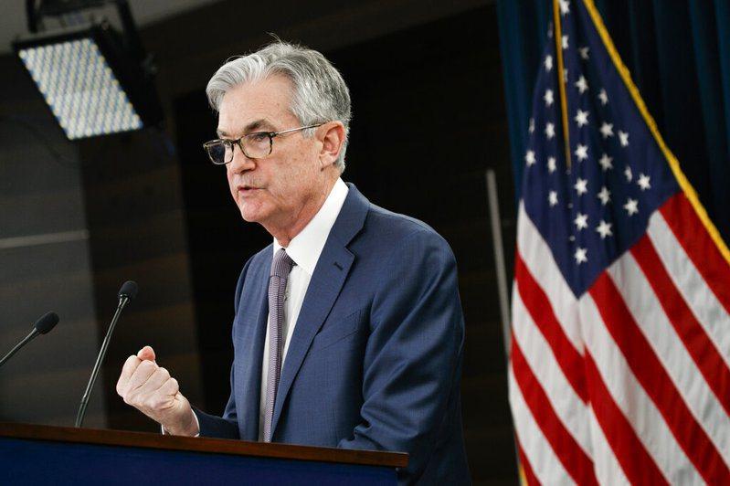 美國聯準會提前降息兩碼因應經濟下滑的風險。圖為聯準會主席鮑爾。 美聯社