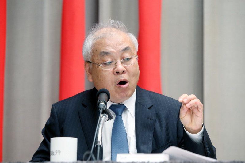 主計長朱澤民。 圖/聯合報系資料照片