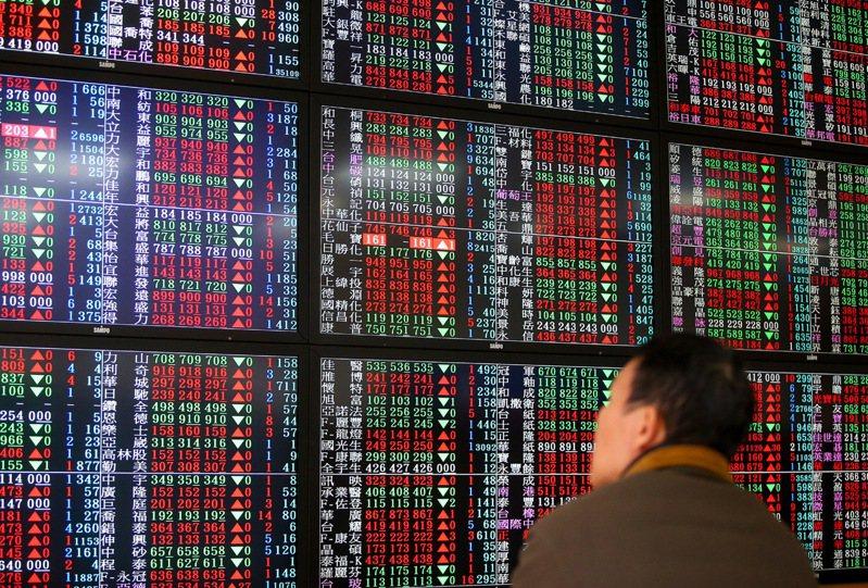 台股25日大漲359.13點、漲幅3.87%,站穩10日均線。 聯合報系資料照/記者余承翰攝影