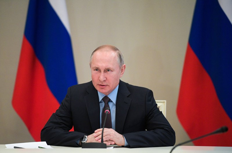 俄羅斯總統普亭。 路透社