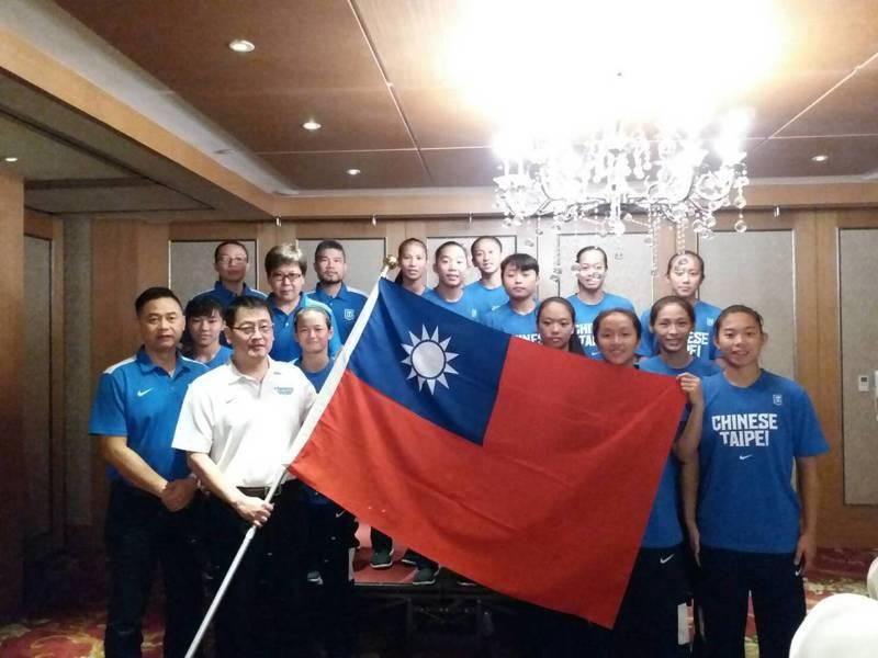 圖上屆中華U16女籃代表隊。 報系資料照