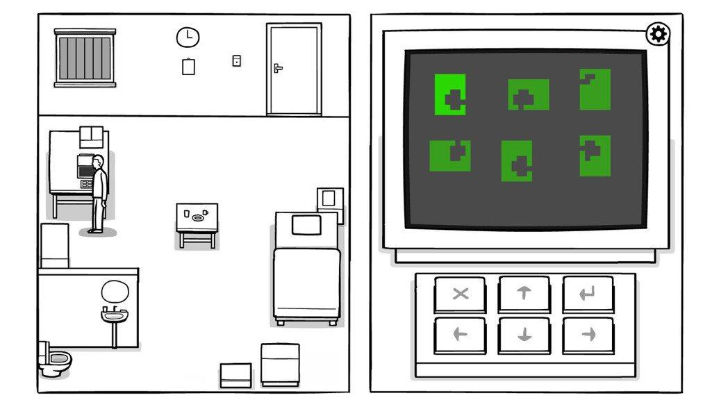 遊戲畫面風格很呼應遊戲名稱,簡單線條能夠表示出許多豐富物件,執行的操作也不會過難...
