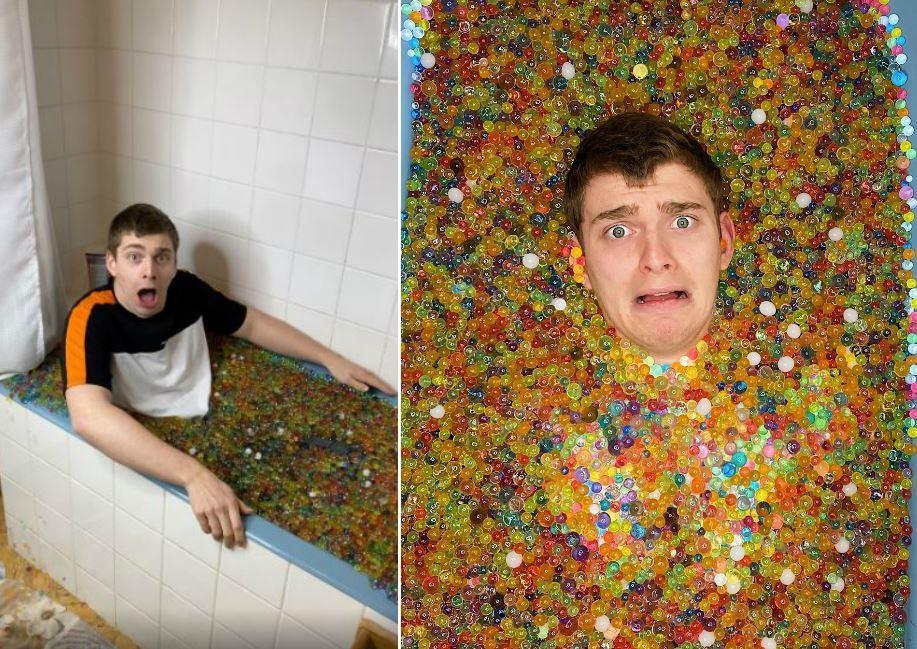法國一名網紅近日便實驗在浴缸裡飼養大量的「水晶寶寶」,沒想到最後的結果卻嚇到他。