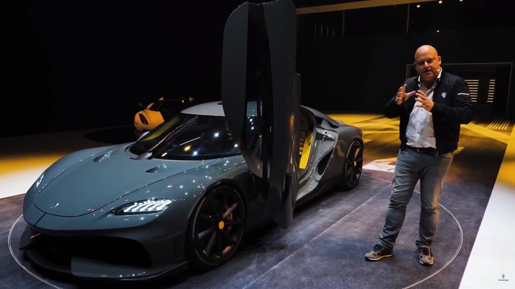 Koenigsegg執行長Christian von Koenigsegg。 摘...
