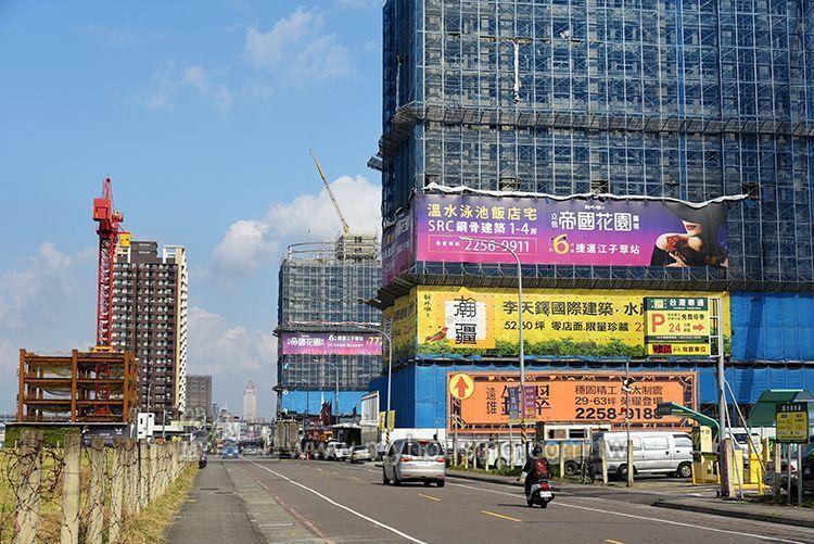 板橋去年推案量後來居上,衝破8百億登上北台灣第一。