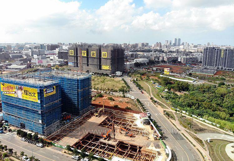 龜山去年可售戶數高達7,258戶,大部份供給量來自A7重劃區。