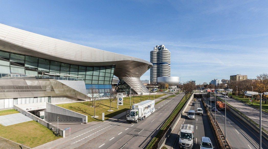 德國慕尼黑BMW總部。 摘自BMW