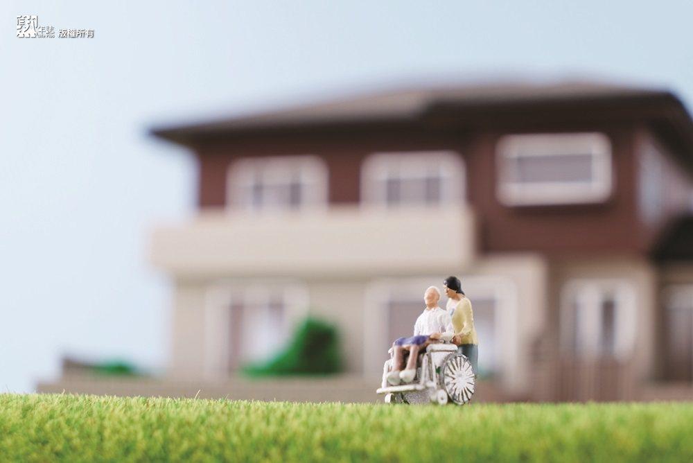 臨終照顧不是醫療,而是生活的一部分。 圖/熟年誌提供