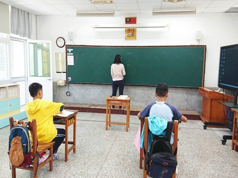 教育部統計,全校人數不到50人的國小校數,10年增加1.7倍。本報資料照片