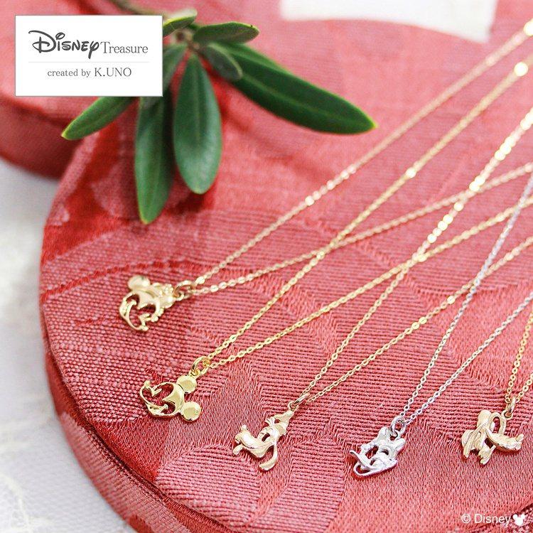 Disney Treasure系列亦有米奇和他的朋友的輕珠寶選擇。圖/K.UNO...