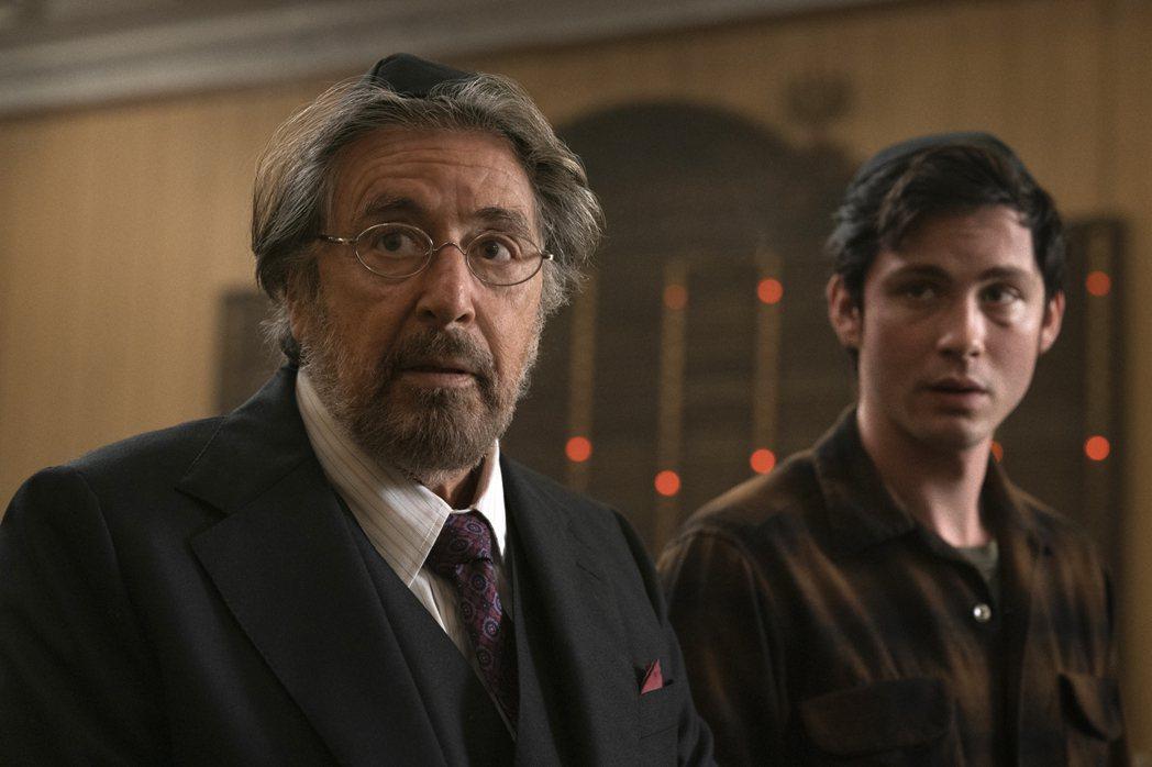 艾爾帕西諾難得擔任影集主角,「納粹獵人」備受矚目。圖/摘自imdb
