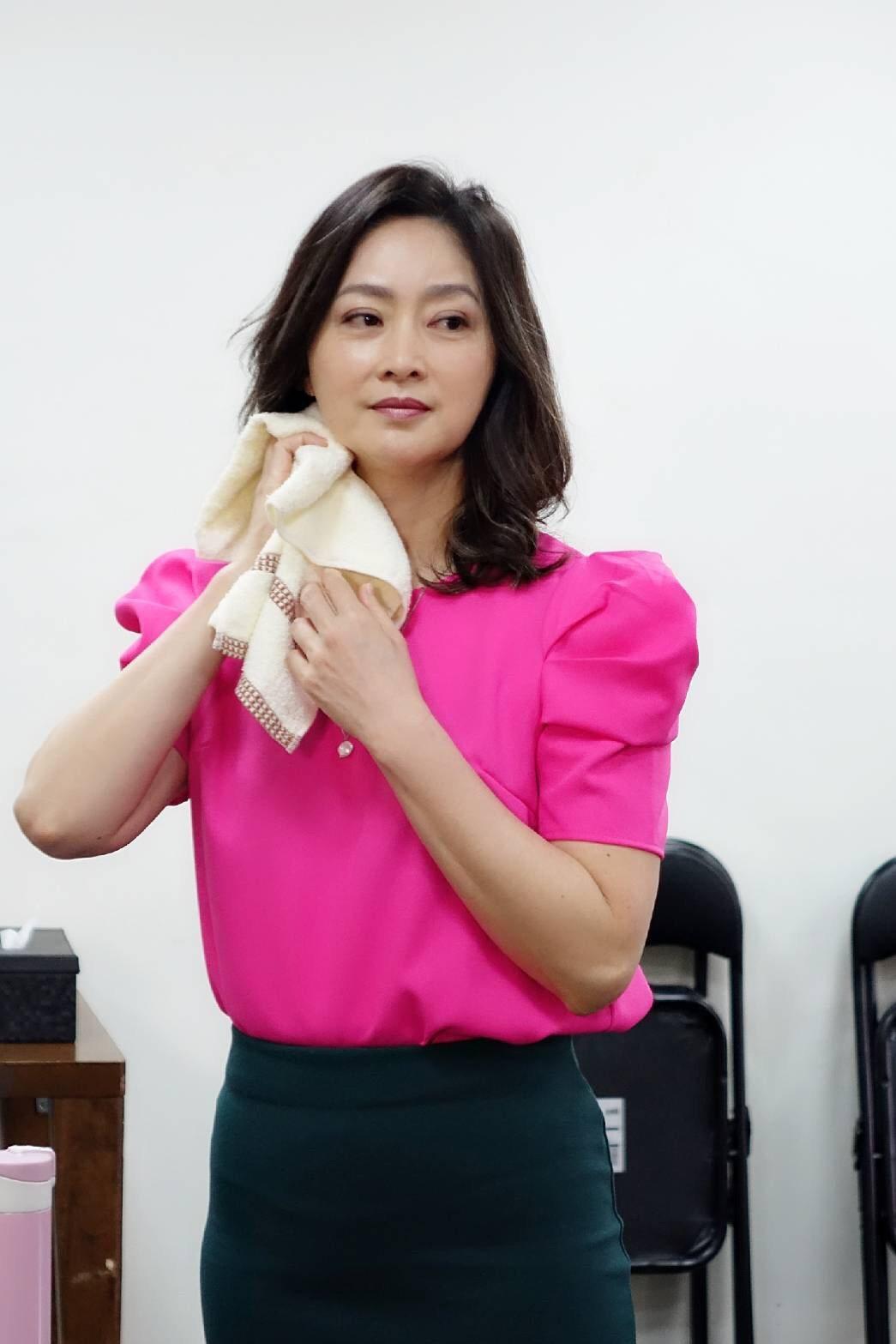 劉瑞琪近期忙排練舞台劇「最後一封情書」。圖/九玖經紀工作室提供