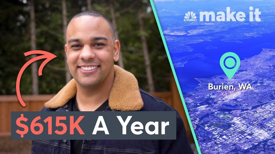 今年27歲的鮑德溫自12歲開始打工,如今已成為擁有6棟房屋的千萬富翁。 圖/取自