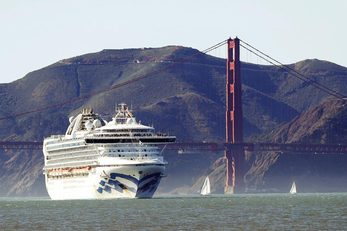 加州政府緊急要求至尊公主號「加速前進」盡快靠岸,並已安排直升機空運檢測試劑與防疫...