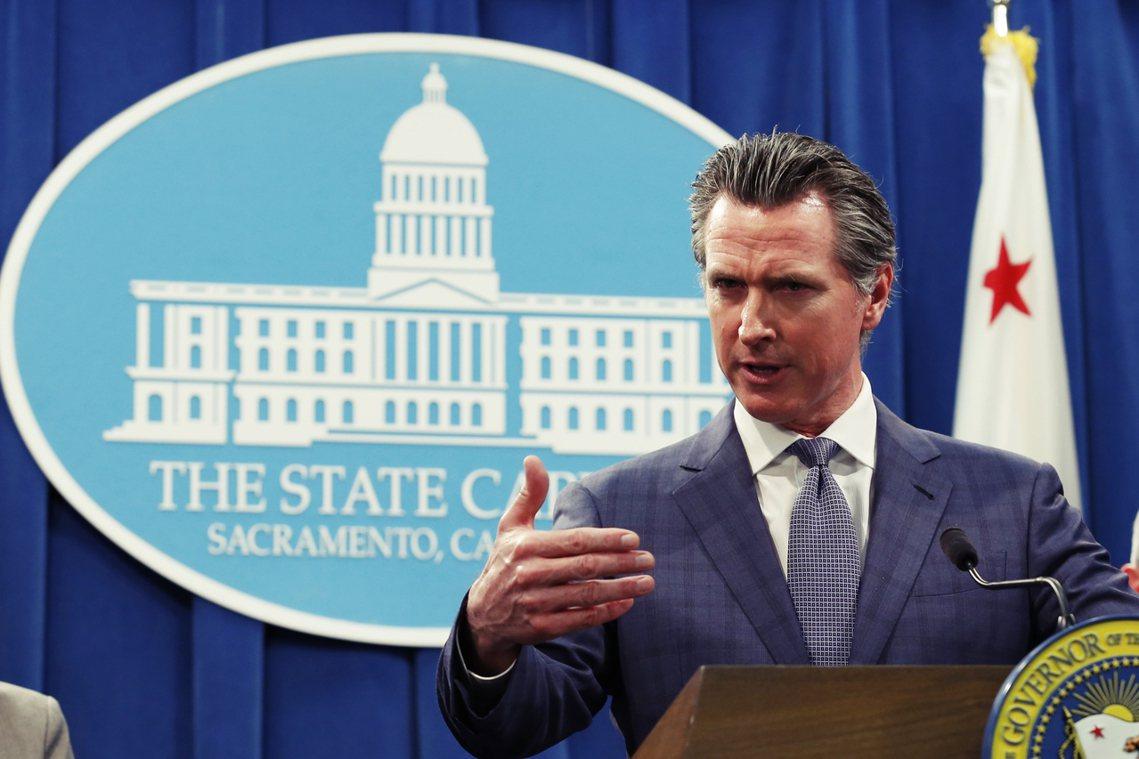 加州州長紐森(Gavin Newson,民主黨籍)於4日正式宣布加州進入「防疫緊...