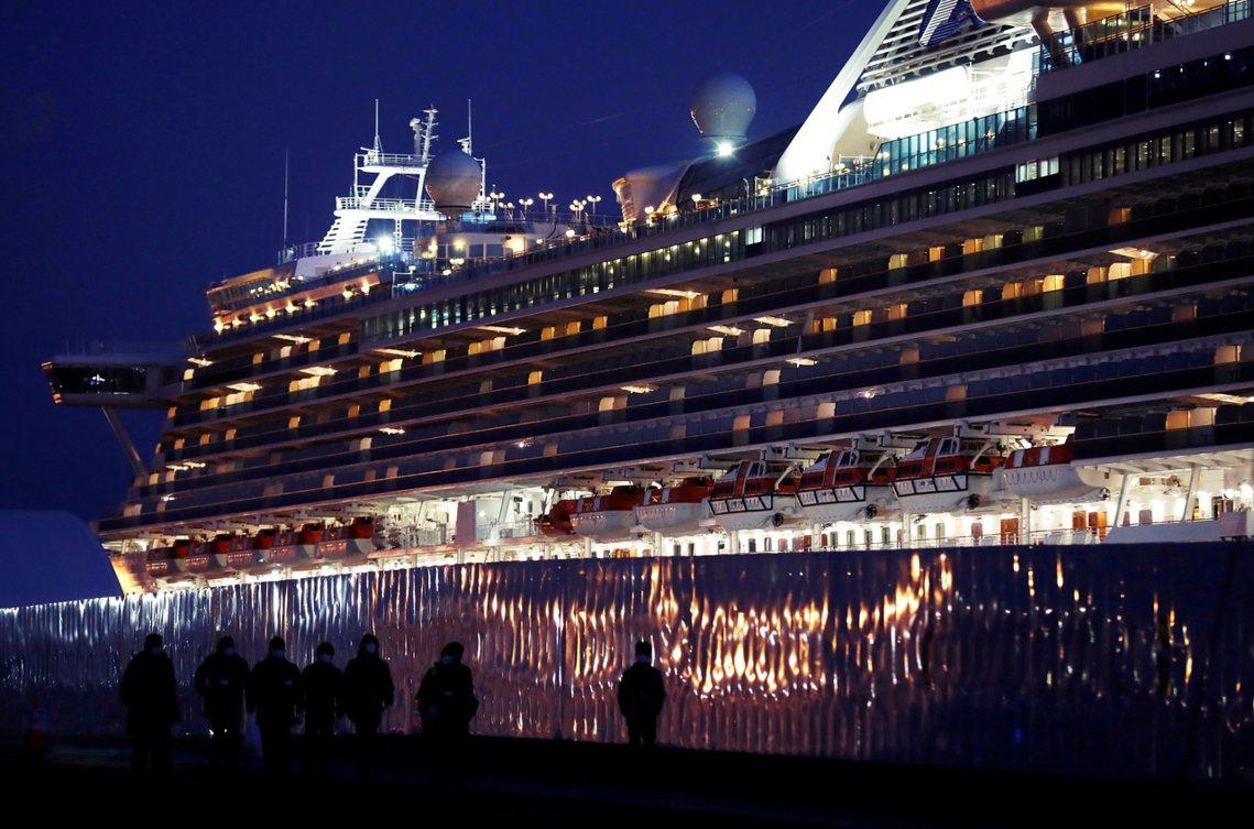 「至尊公主號」郵輪與日前在日本橫濱港爆發嚴重疫情的「鑽石公主號」(Diamond...