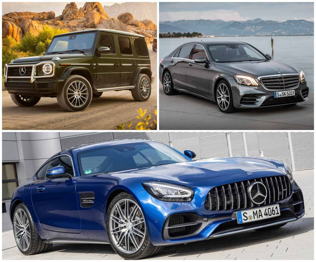 目前採用獨立平台開發的車型有 G-Class、S-Class、SL-Class和...