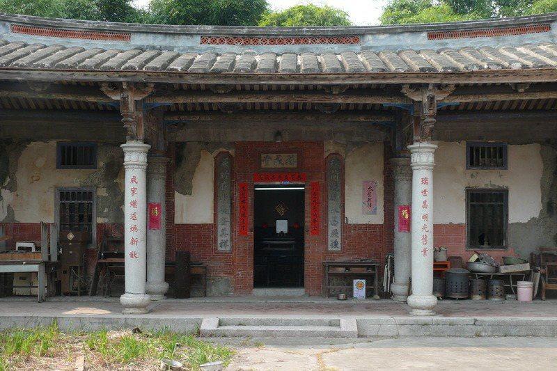 瑞成堂建人黃清江曾任南屯庄庄長,對南屯庄之建樹頗多。 圖/取自台中市文化資產處