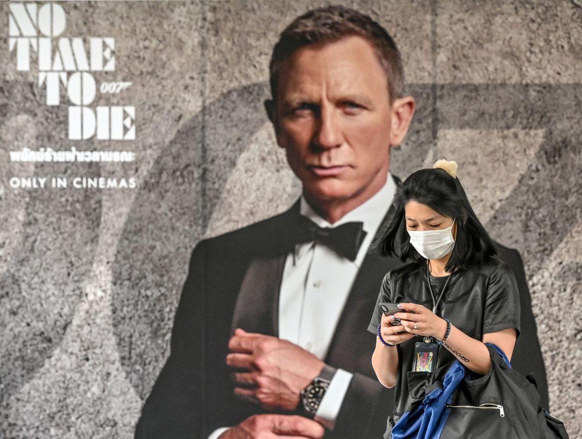 泰國的007電影宣傳。 圖/法新社