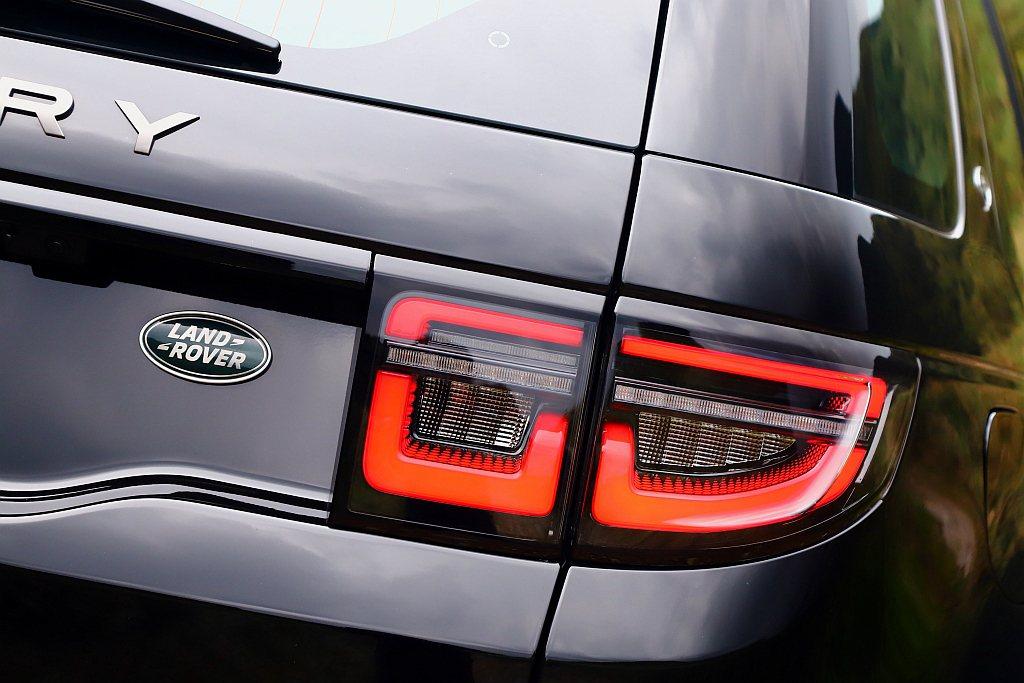 新式LED尾燈也讓小改款Land Rover Discovery Sport辨識...